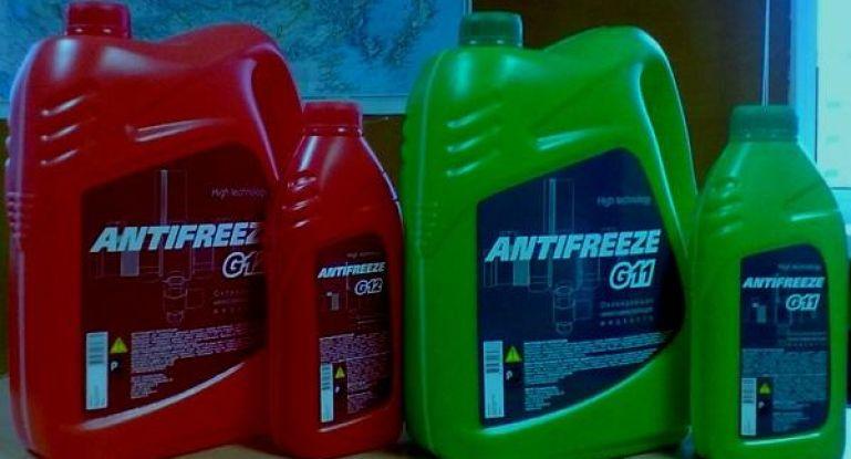 Антифриз: красный, зеленый, синий – в чём разница и какой лучше заливать?