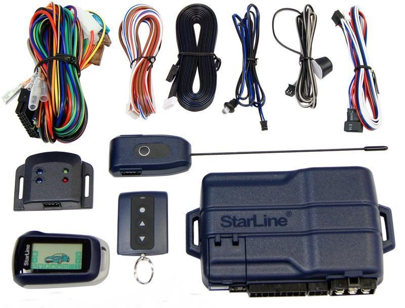 a92 3 2642 4338 - Схема подключения сигнализации старлайн а92
