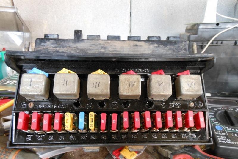 Замена блока предохранителей ваз 2107 инжектор