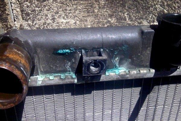 potek radiator ohlaz63 - Уходит вода из системы охлаждения двигателя